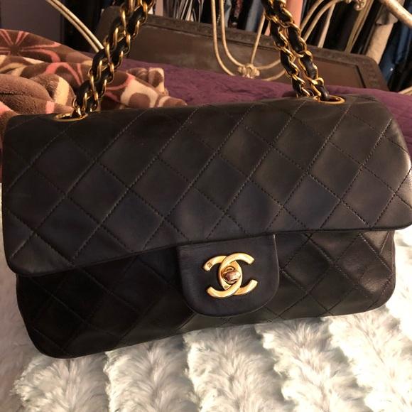 de97afa8b6a659 CHANEL Bags | Sold Vintage 255 Small Double Flap Bag | Poshmark